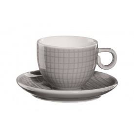 Чашка для еспресо з блюдцем ASA Voyage 80 мл (15011144)