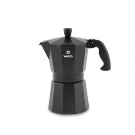 Кофеварка гейзерная VINZER Moka Nero 9 чашек (89396)