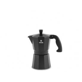 Кофеварка гейзерная VINZER Moka Nero 3 чашки (89394)