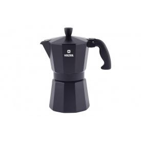 Кофеварка гейзерная VINZER Moka Nero 6 чашек (89395)