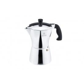 Кофеварка гейзерная VINZER Moka Aroma 6 чашек по 55 мл (89389)