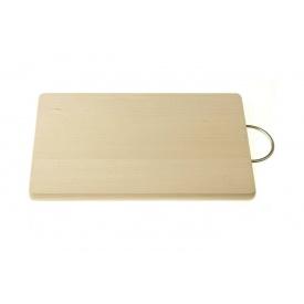 Доска разделочная PRACTIC деревянная c металлической ручкой (9721)