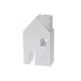 Подсвечник KOOPMAN в форме дома 9x5x16 см (APF420060-W)