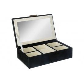 Шкатулка ATMOSPHERA черная 21х14х5,5 см (157034)