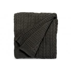 Одеяло ARTE REGAL 127х152 темно-серое (52503)
