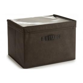 Ящик для хранения ARTE REGAL нетканный темно-коричневый 38x25x25 см (22009-1)