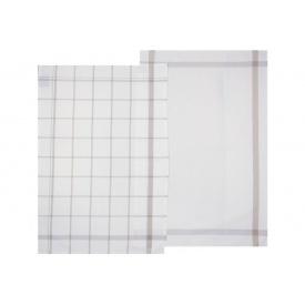 Полотенце кухонное ATMOSPHERA серое 45x70 см (х2) (146161 B)