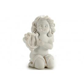 Статуэтка Ангел с арфой ARTE REGAL белый 5x7x9 см 85 г (20027-2)