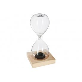 Магнитные песочные часы ATMOSPHERA на деревянной подставке 6x6x15 см (158089)