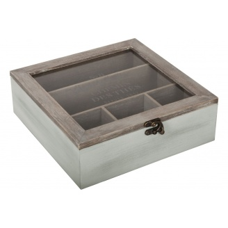 Коробка для зберігання ATMOSPHERA spring garden 24х25х8 см (156879-1)