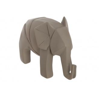 Статуетка ATMOSPHERA Elephant Origami 18,5x9,5x13 см (158336-gray)