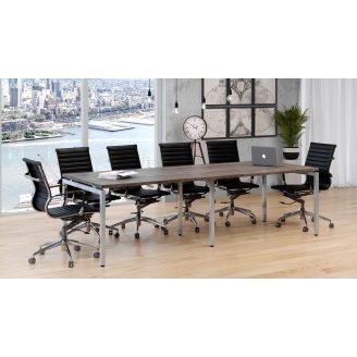 Стол для переговоров Q-2700х750х1000 мм LoftDesign лдсп дуб-палена