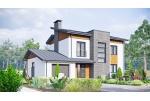 Строительство двухэтажного дома проект Русановка-2 с газоблока