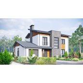 Будівництво двоповерхового будинку проект Русанівка-2 з газоблоку