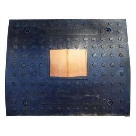 Знижувач швидкості гумовий елемент основний ІМПЕКС-ГРУП №2 500х400х50 мм (IMPA308)
