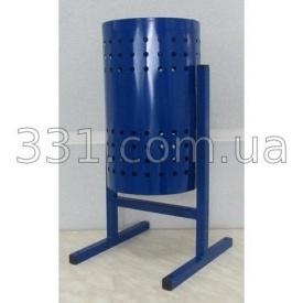 Урна металева кругла ІМПЕКС-ГРУП 240х350 мм 12мл (IMPA740)