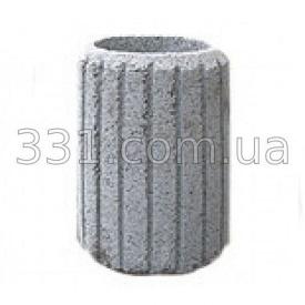 Урна тротуарна бетона ИМПЕКС-ГРУП 400 мм серая (IMPA739)