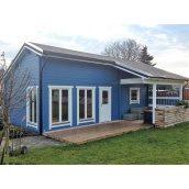 Дом деревянный из профилированного бруса 8.2х4.8