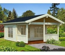 Дом деревянный из профилированного бруса 7.5х5.2