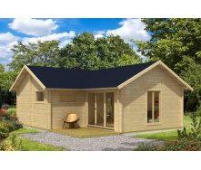 Дом деревянный из профилированного бруса 6.8х7.8