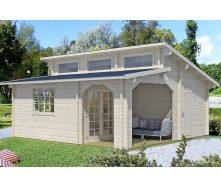 Дом деревянный из профилированного бруса 6.2х6.2