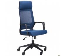 Компьютерное кресло AMF Twist 1220-1150х620х610 мм black синий