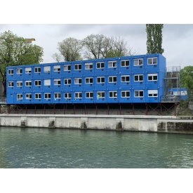 Аренда контейнера для модульных городков