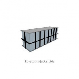 Компенсационная емкость для переливных бассейнов 4,5x1,5x1,5 м