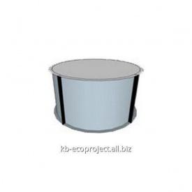 Компенсационная емкость для переливных бассейнов диаметром 2,9м