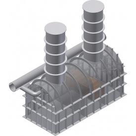 Сепаратор нефтепродуктов для установки в грунт 40 л/сек