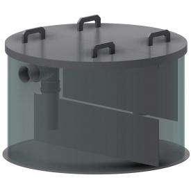 Сепаратор нафтопродуктів для установки в бетонні кільця 5 л/сек