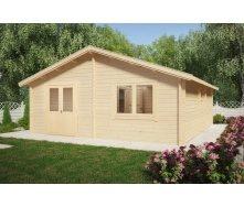 Дом деревянный из профилированного бруса 6х7
