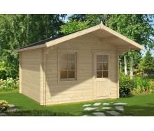 Будиночок садівника з профільованого бруса 3х3