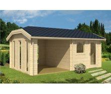 Дом деревянный из профилированного бруса 3х3