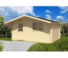 Дом деревянный из профилированного бруса 5х3