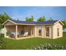 Дом деревянный из профилированного бруса 3х7