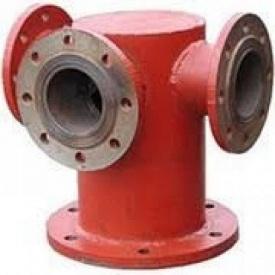 Подставка под гидрант тройниковая ППТФ 100х100 мм стальная ИМПЕКС-ГРУПП