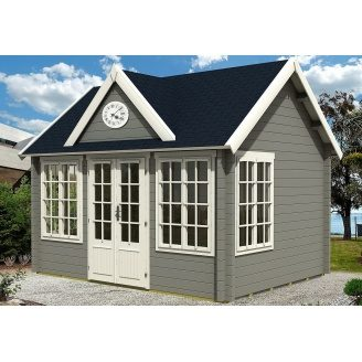 Дом деревянный из профилированного бруса 4.2х3.2
