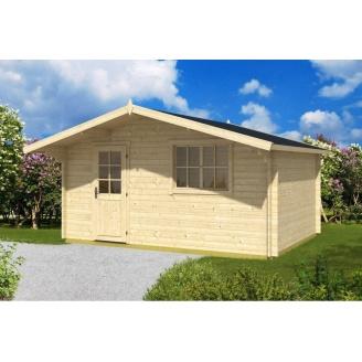 Будинок дерев`яний з профільованого бруса 5х3