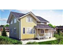 Дерев`яний будинок з профільованого бруса 9х11 м
