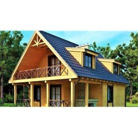 Дерев`яний будинок з профільованого бруса 8х11 м