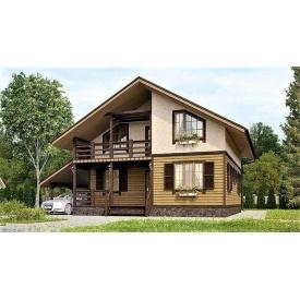 Будинок з профільованого бруса 9х11 м