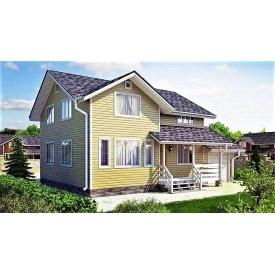 Деревянный дом из профилированного бруса 9х11 м