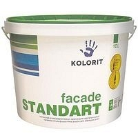 Краска фасадная Kolorit Стандарт LA 9 л