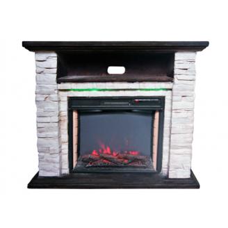 Электрокамин Bonfire Ellison Stone 24 Mood suite с подсветкой