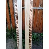 Вагонка сосна цілісна 32х90х2000 мм з декоративним тисненням Бамбук