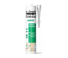 Герметик Ceresit Akryl 280 мл белый (645834)