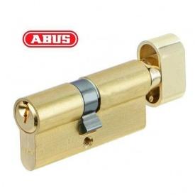 Цилиндр ABUS KE50 80мм 40х40Т ключ - вороток, латунь матовая