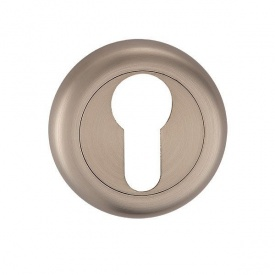 Накладка дверная под цилиндр MVM E5a SN матовый никель