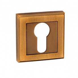 Накладка дверная под цилиндр MVM E8 MACC матовая бронза